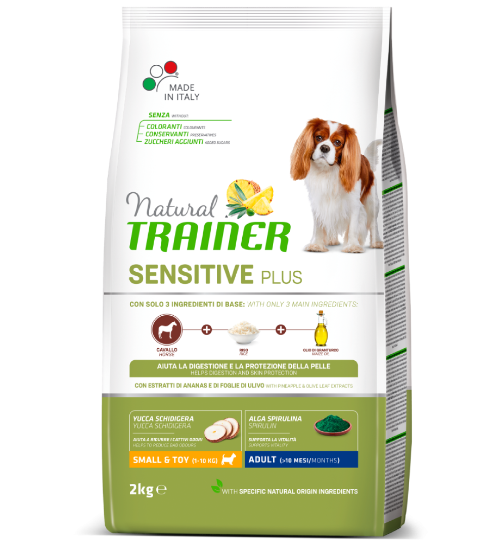 Trainer Natural Sensitive Plus - Small&Toy - Adult - 2 kg