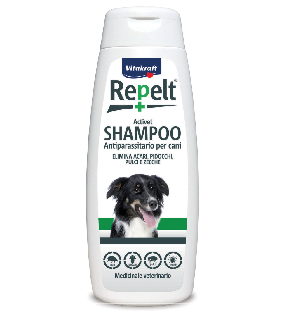 Vitakraft - Shampoo antiparassitario Repelt - 250ml