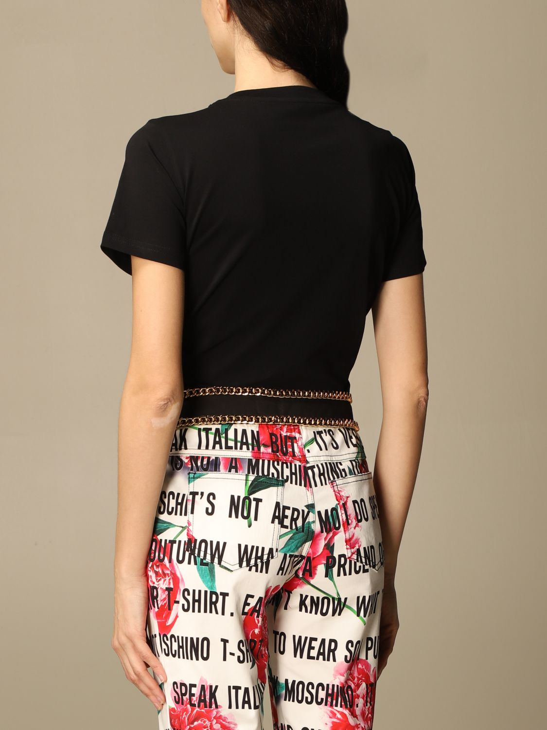 T-shirt moschino couture