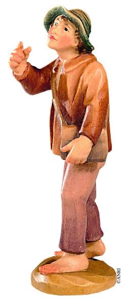 Pastorello per presepe Anri Kuolt  cm. 12,5