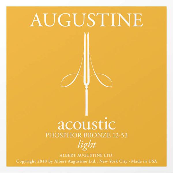 AUGUSTINE MUTA PHOSPHOR BRONZE LIGHT 12-53