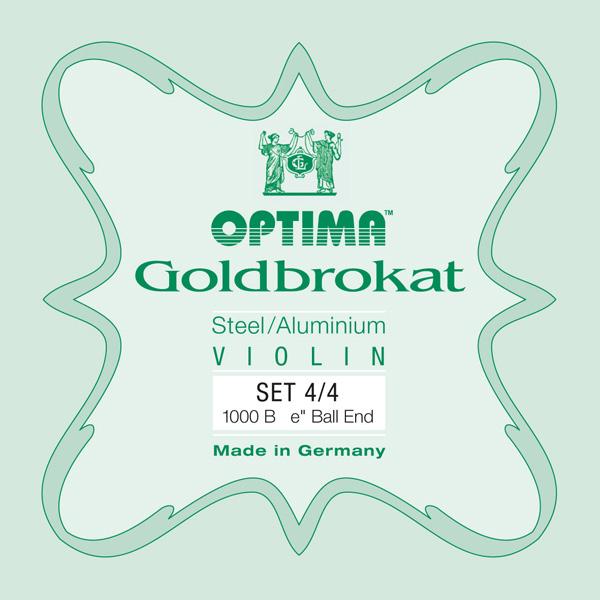 OPTIMA GOLDBROKAT CORDE PER VIOLINO 1000 B