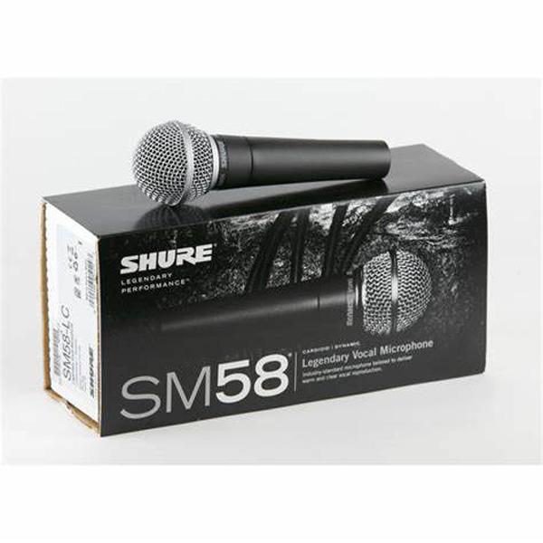 SHURE SM58 MICROFONO