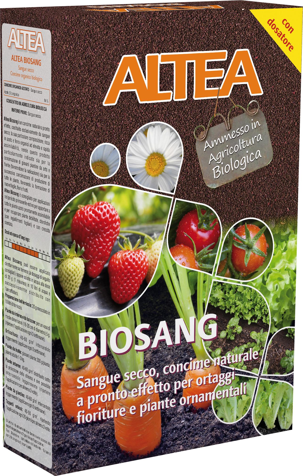 CONCIME SANGUE SECCO BIOSANG KG.1 ALTEA