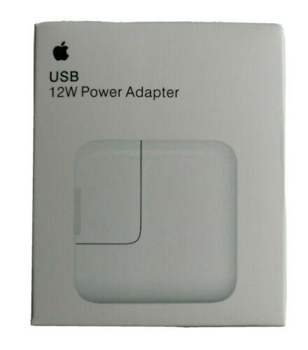 Alimentatore Originale Apple Caricabatteria A1401 Per iPhone iPad iPod 12w md836