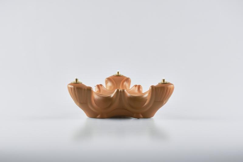 Lampada triade porcellana