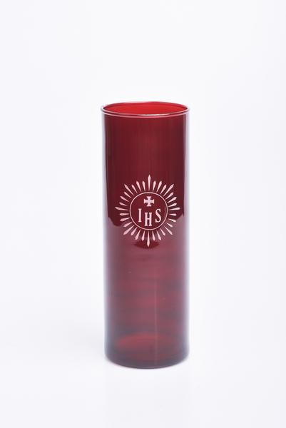 Vetro rosso rubino