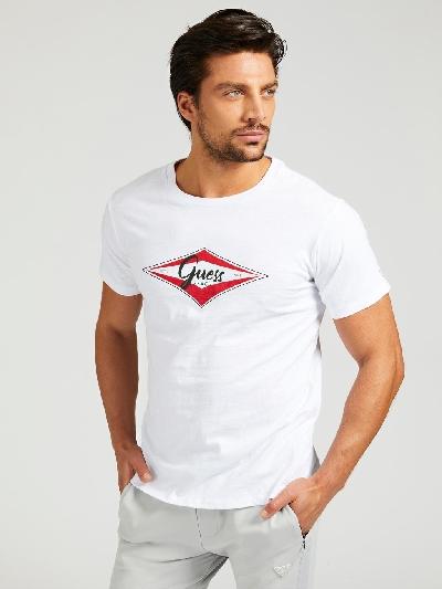 Guess T-Shirt Top Logo Frontale.