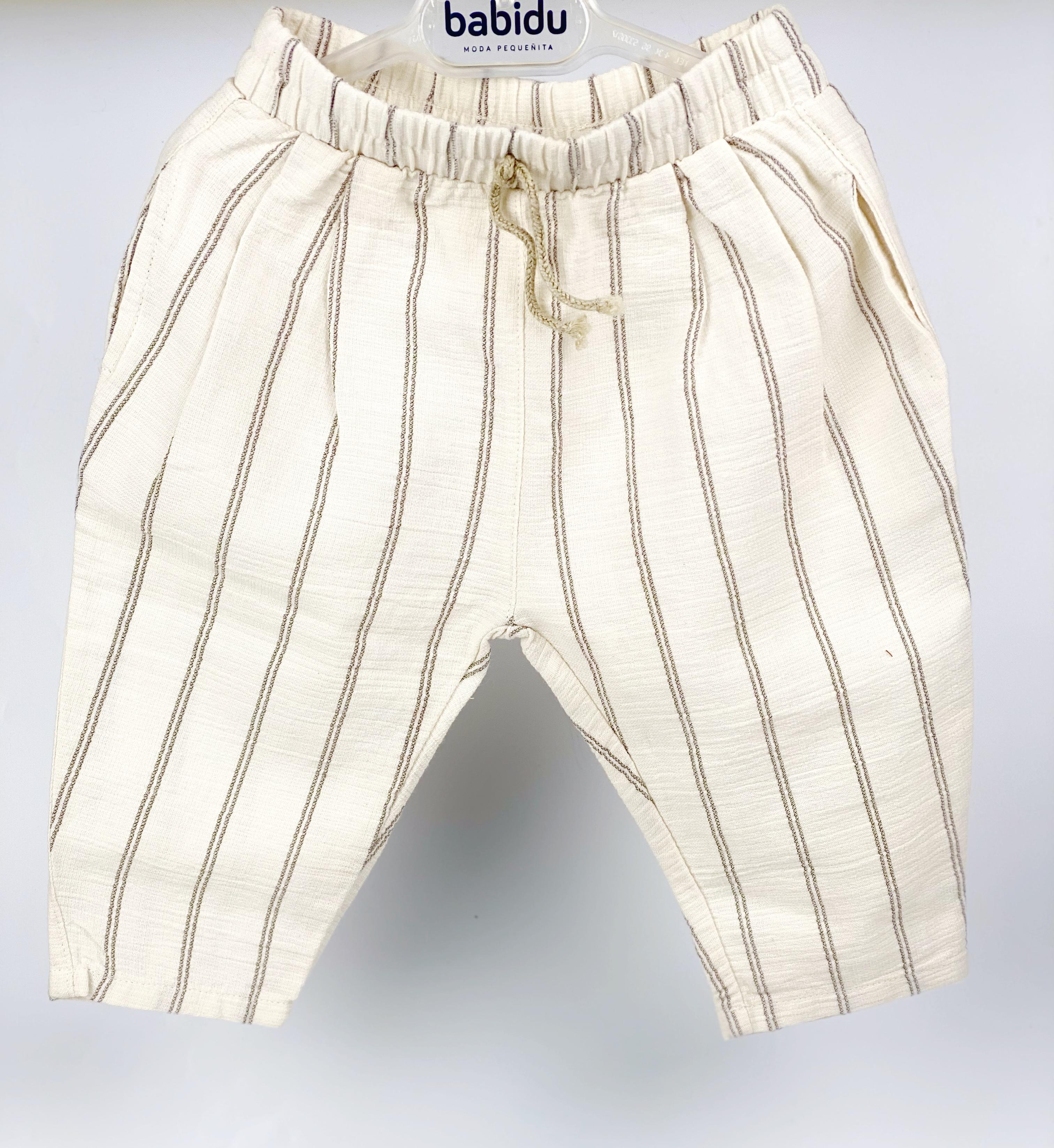 pantalone in cotone biologico