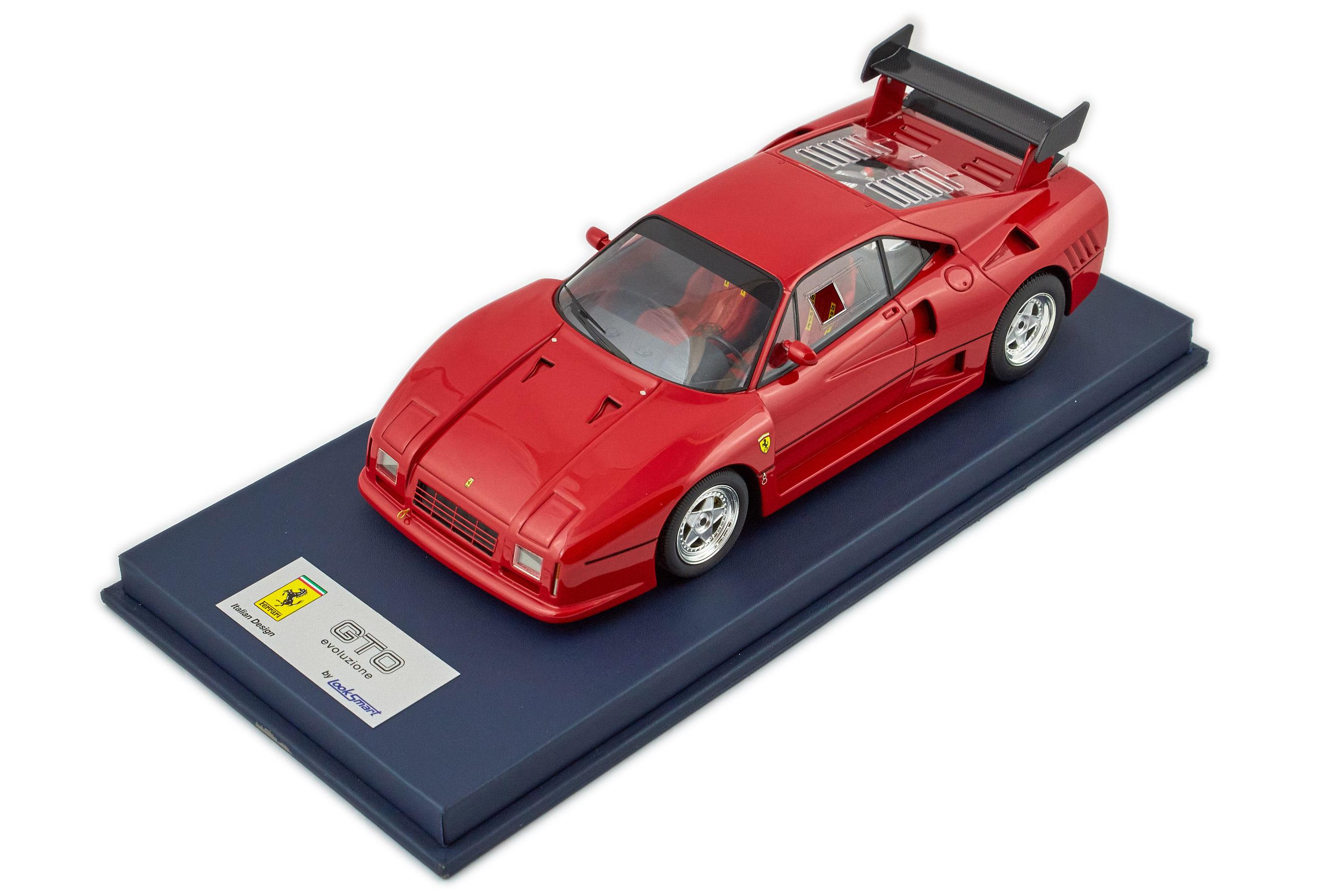 Ferrari 288 Gto Evoluzione Standard Wheels 1/18 Looksmart