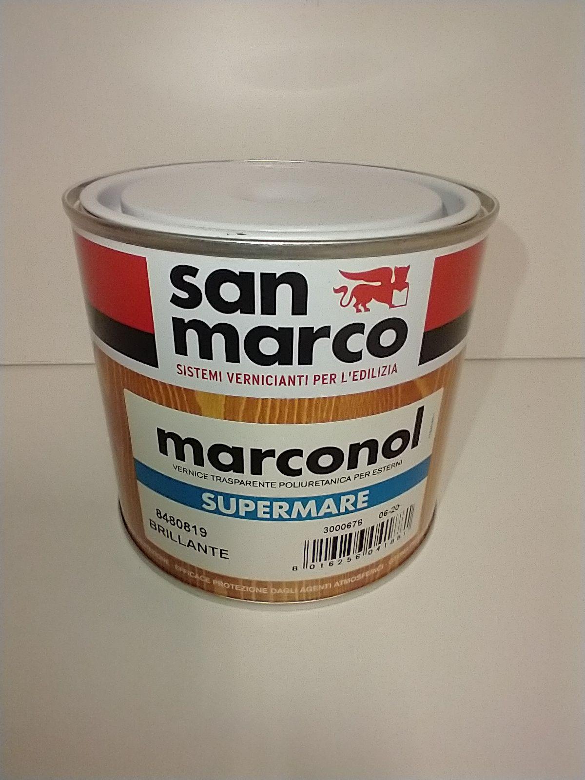 VERNICE POLIURETANICA SUPERMARE SAN MARCO