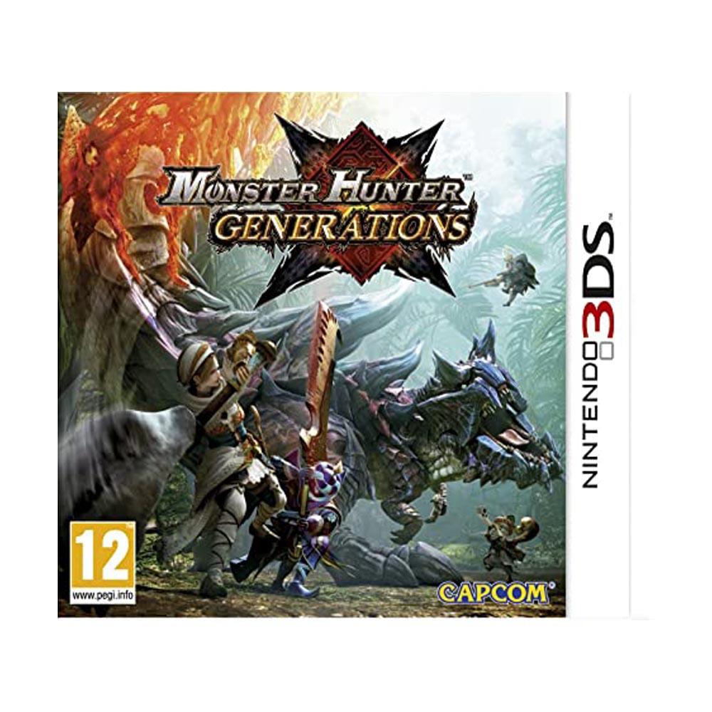 Monster Hunter Generations - Usato - 3DS