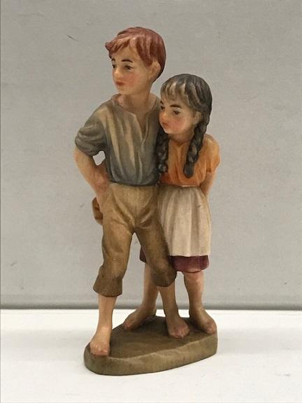 Pastorelli Peter e Petra per Anri Ulrich Bernardi  cm. 10