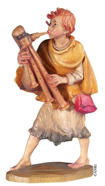 Pastorello con cornamusa per Anri Ulrich Bernardi  cm. 10