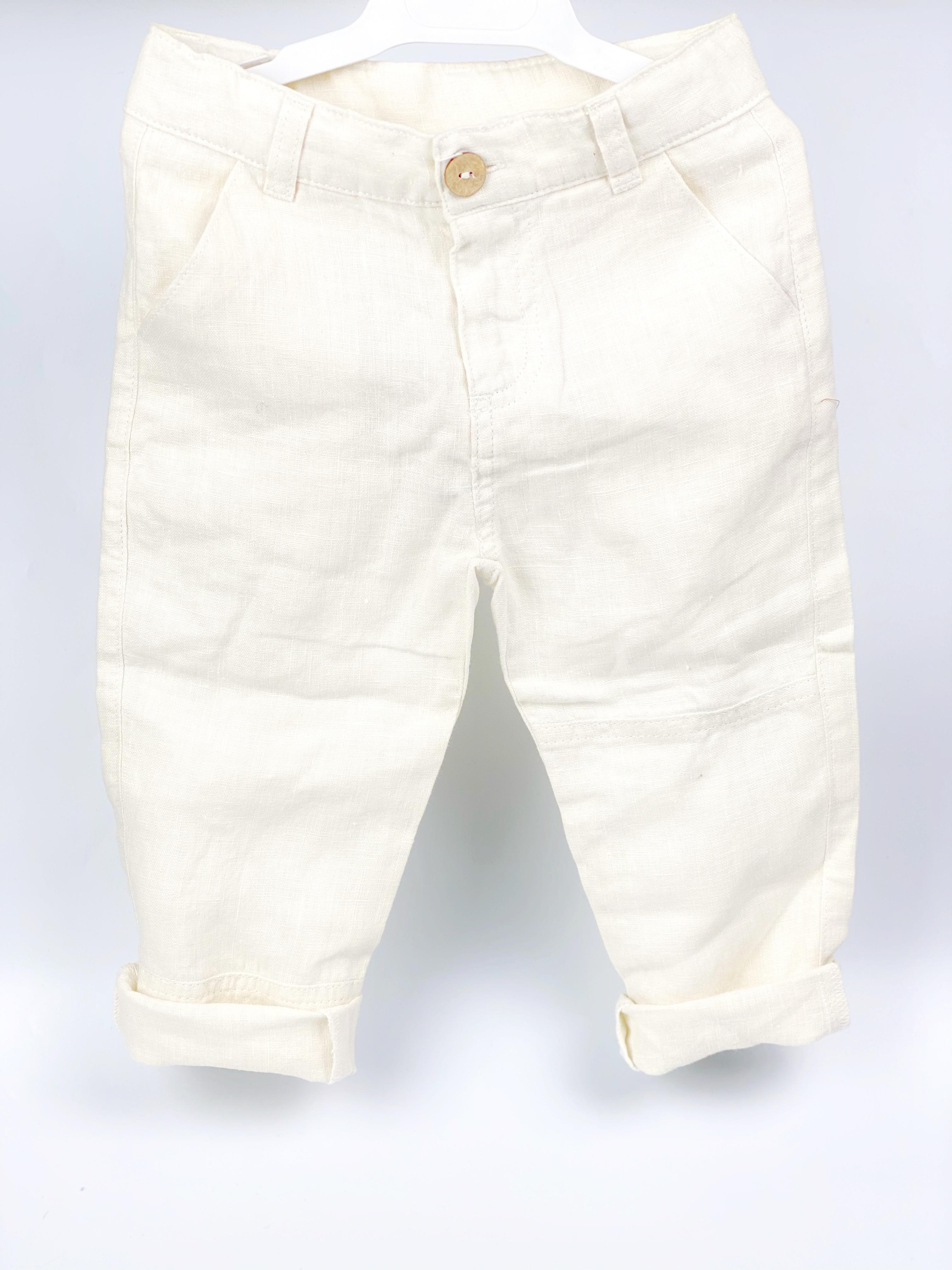 pantalone di lino