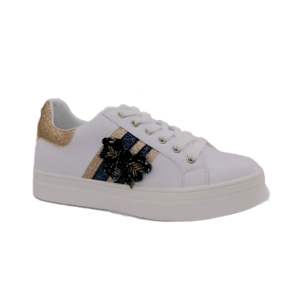 Sneakers Donna Energy 36 PLATINO  -10