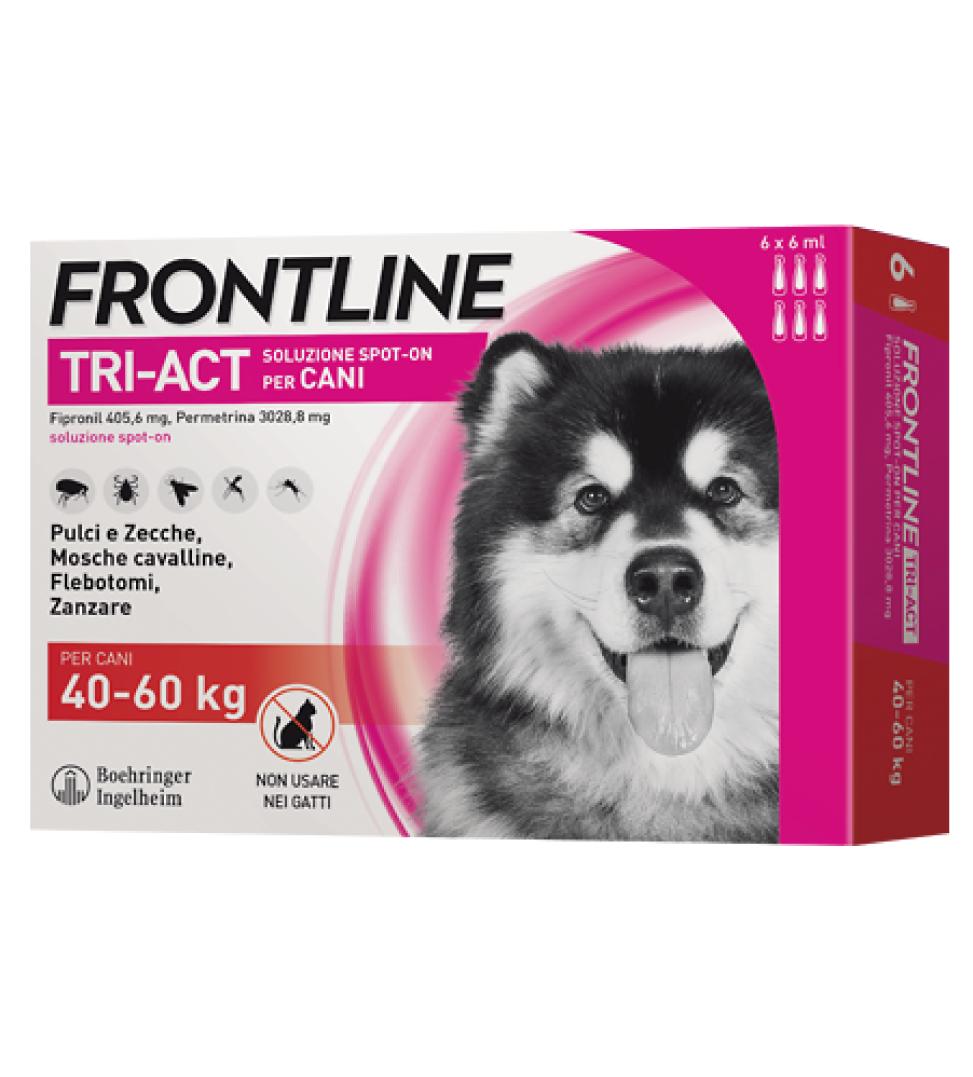 Frontline - TriAct - Da 40 a 60 kg - 6 pipette