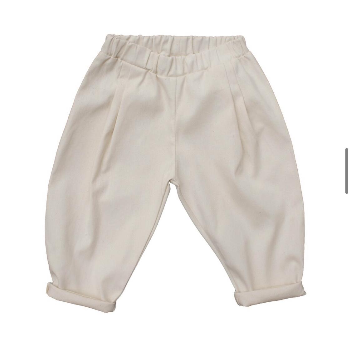 Pantalone elegance in gabardine