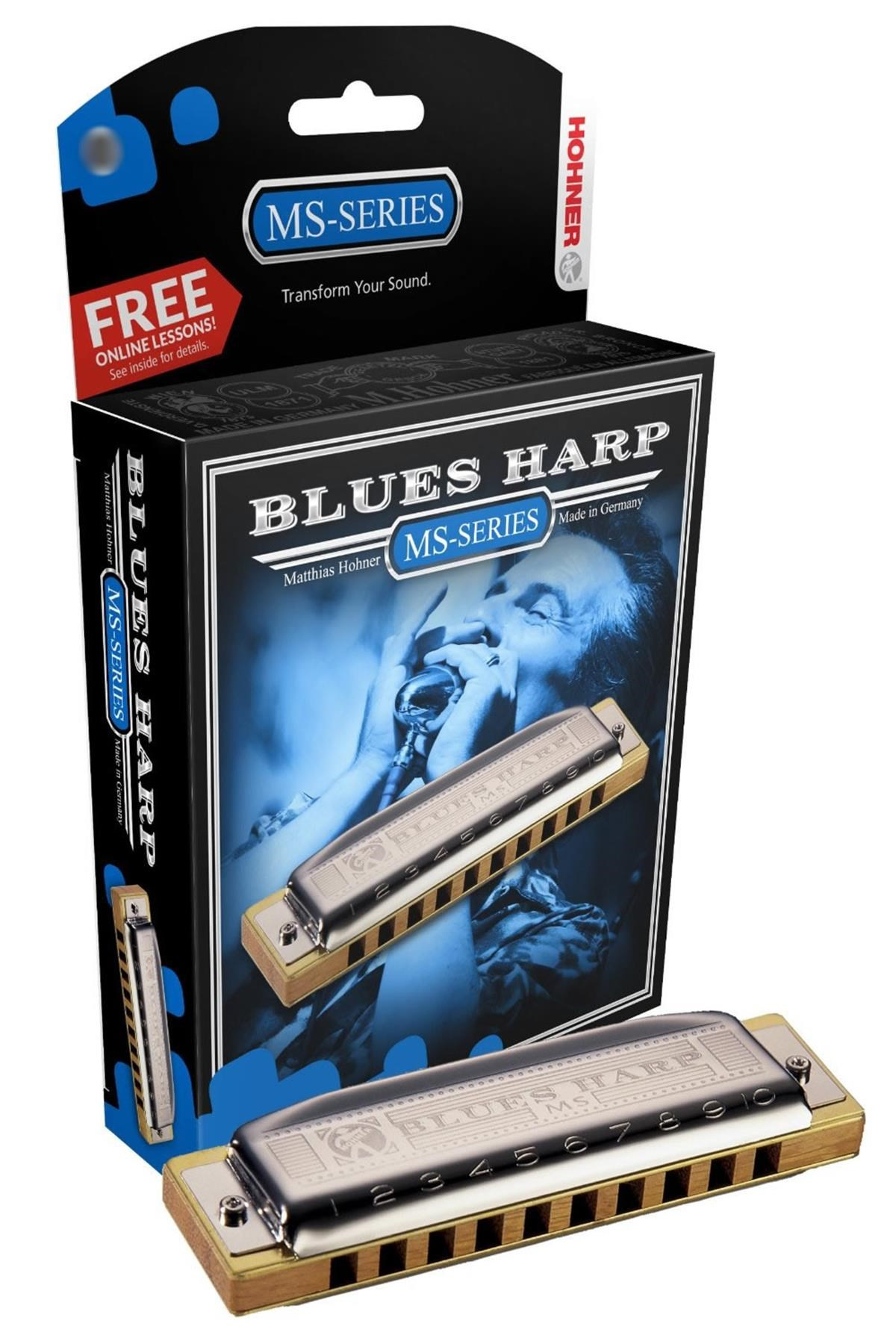 HOHNER BLUES HARP MS 20 E MI