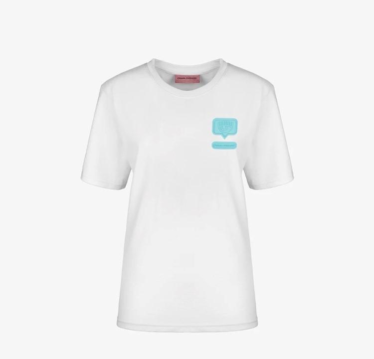 T-shirt oversize eyelike chiara ferragni