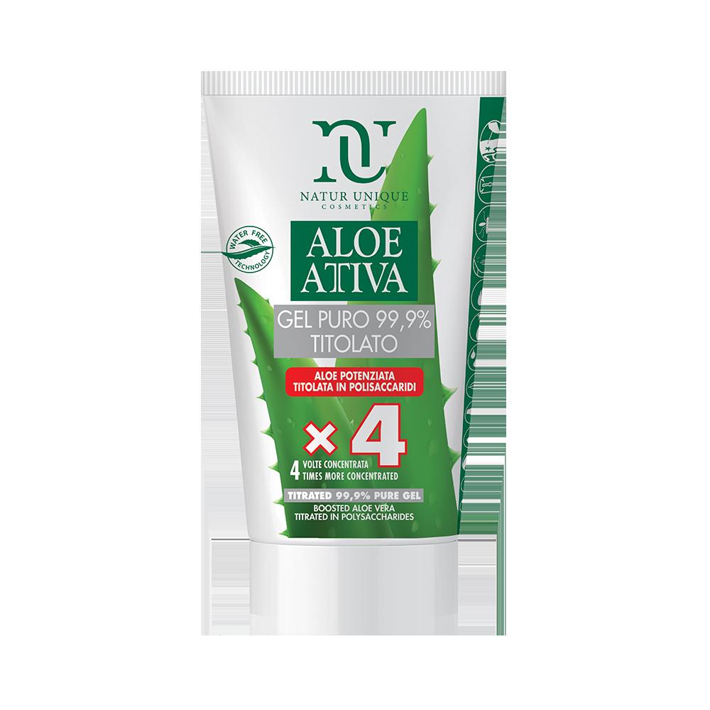 Aloe Attiva Gel Puro 4X