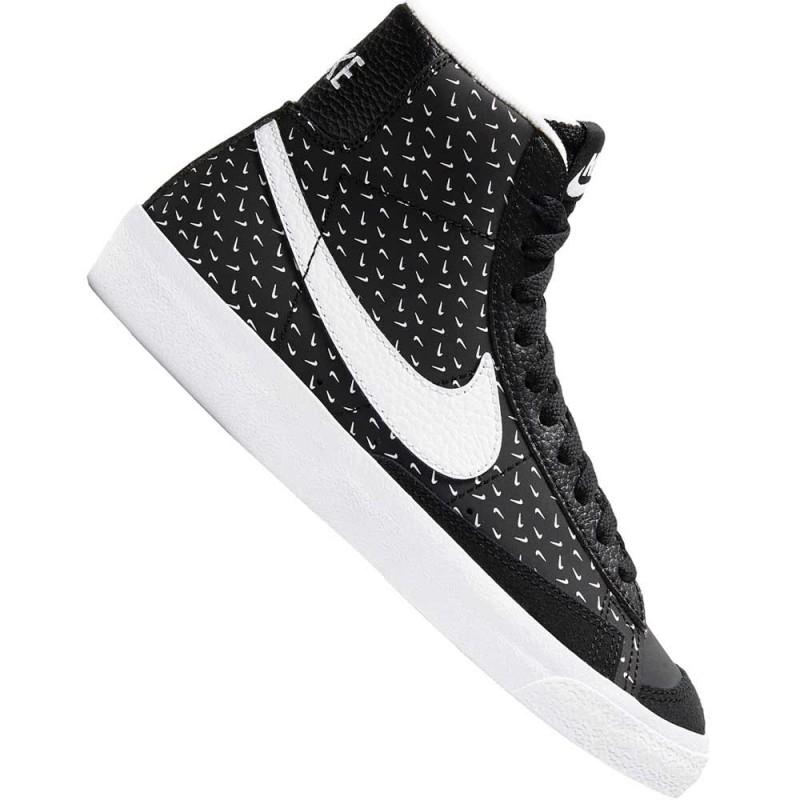 Scarpe Nike blazer mid 77 - Black/white-Black noir DC9197 001