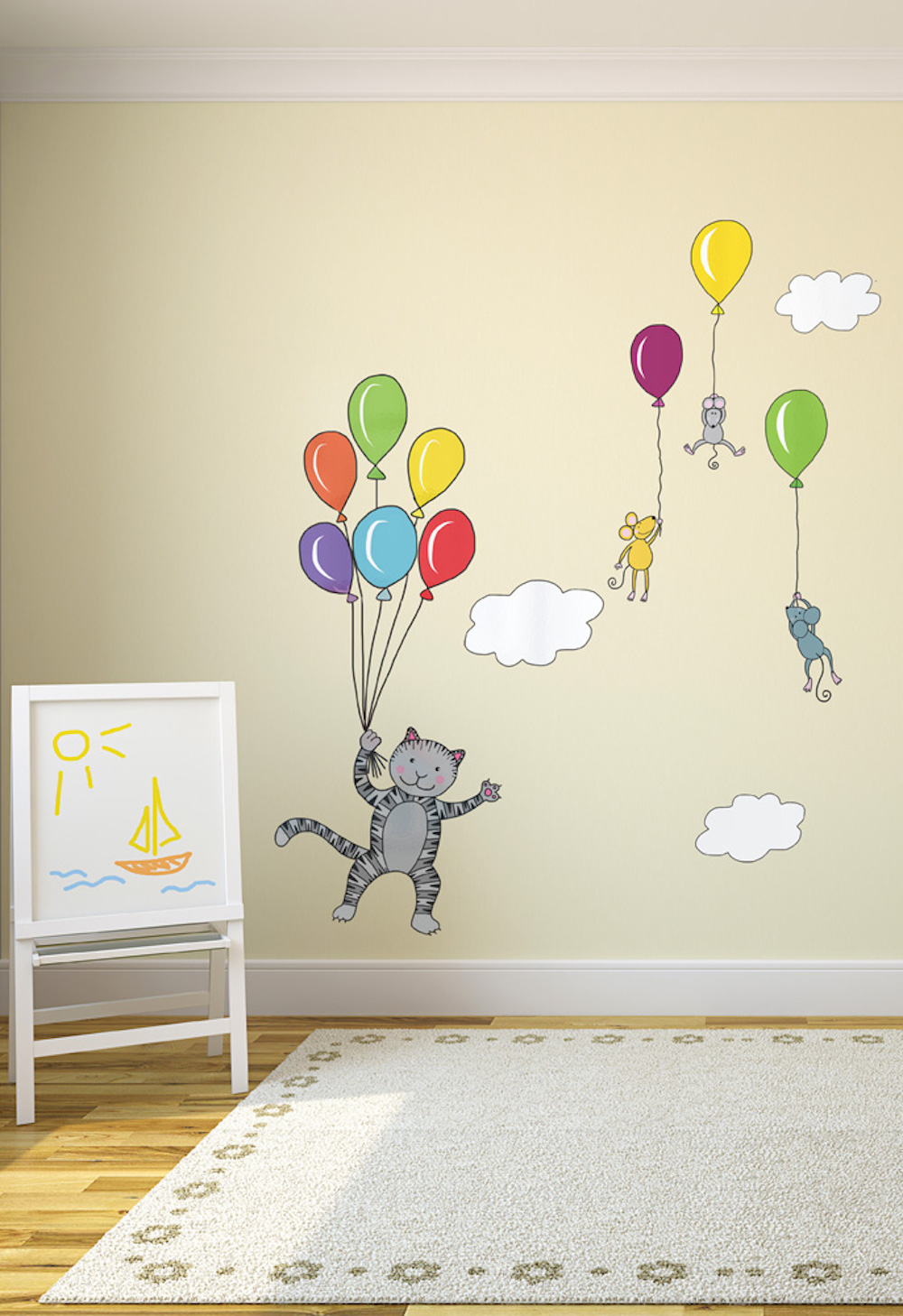 Wall sticker Balloons