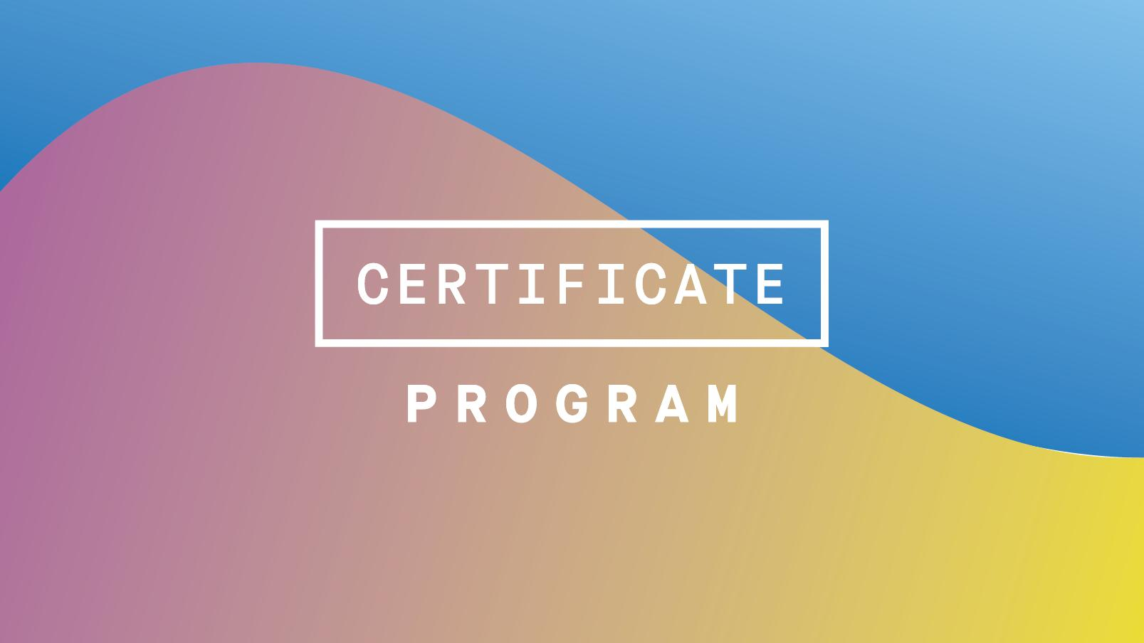 Blockchain for Managers Certificate Program