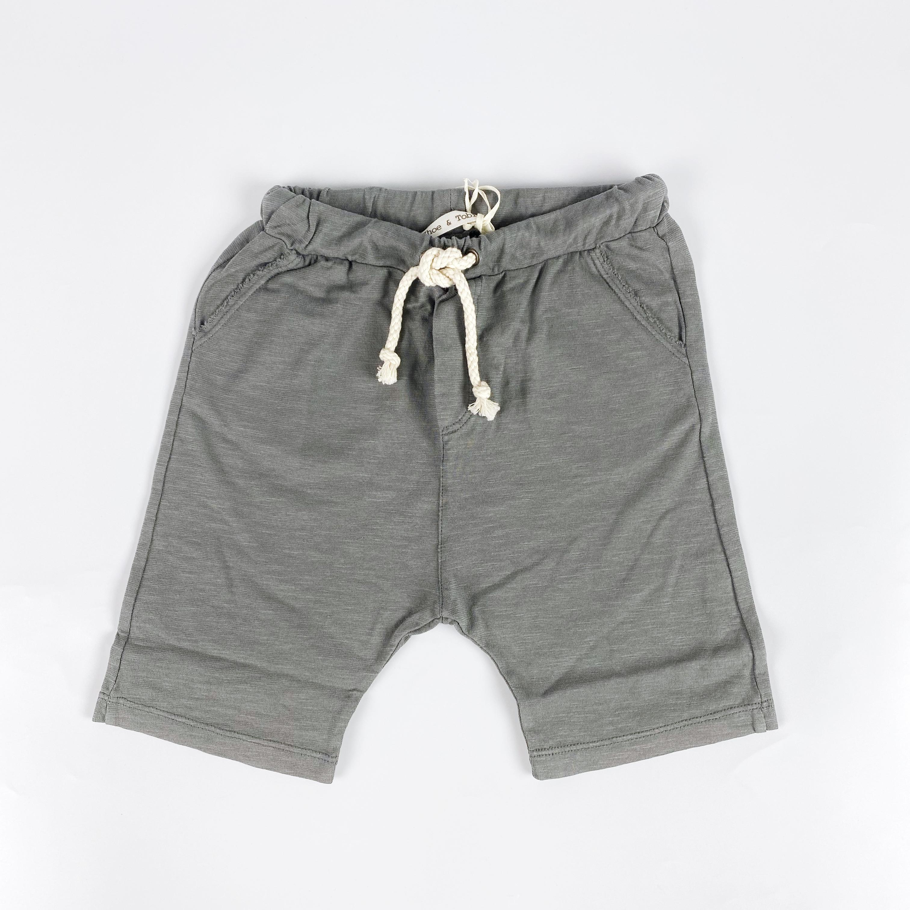 pantaloncino in felpa