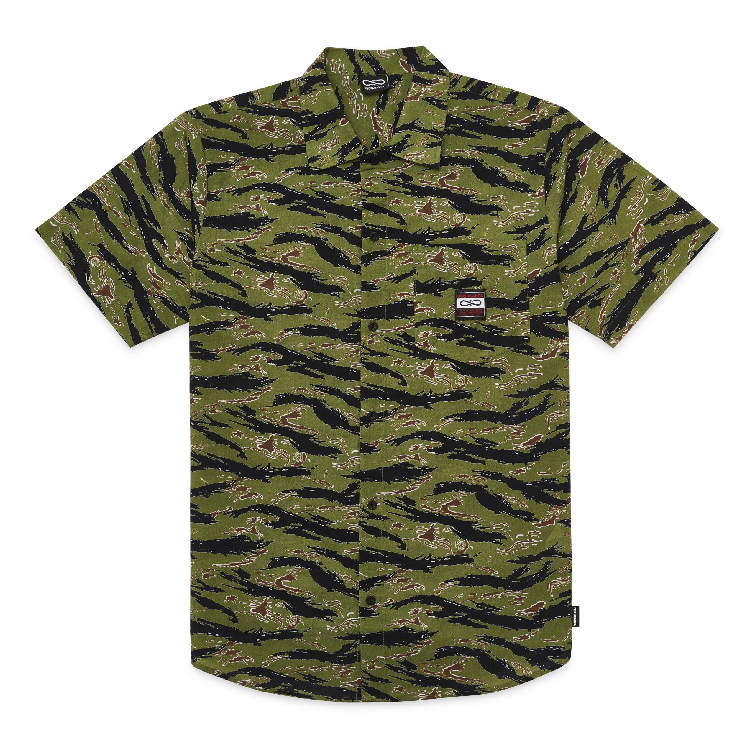 Camicia Propaganda - TIGER Beach Shirt Pattern