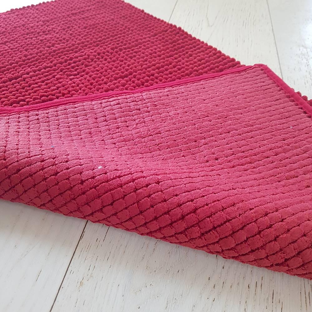 Tappeto antiscivolo Soffy rosso 50 x 80