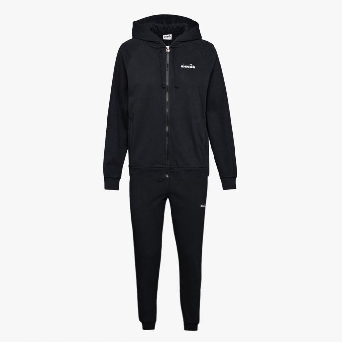Tuta Diadora - Suit Core Full Zip nero Donna
