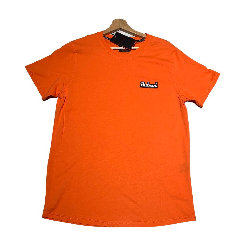T-shirt Butnot - Man Orange
