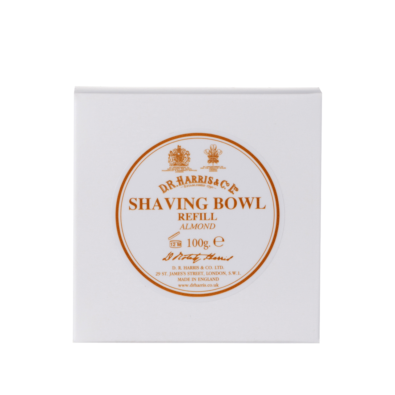 Almond - Shaving Soap Refill