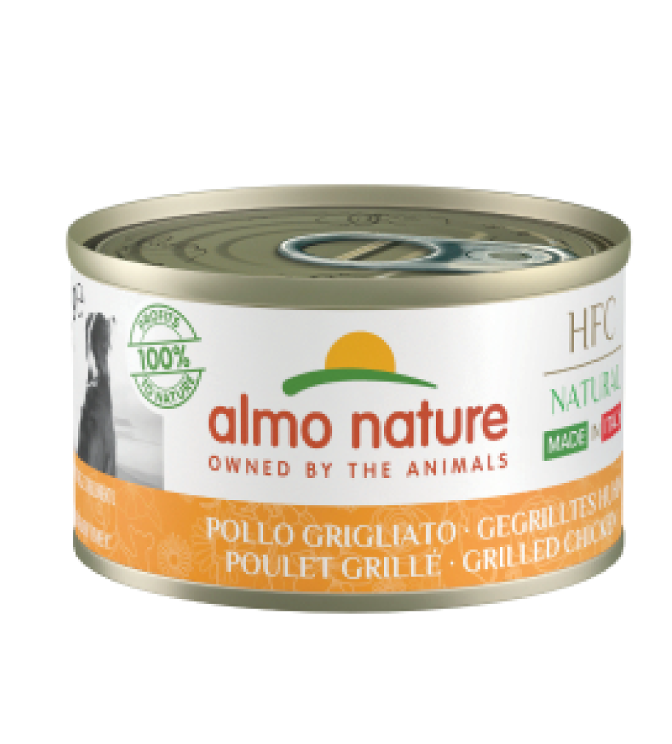Almo Nature - HFC Dog - Adult - Natural - Made in Italy - 95g x 24 lattine