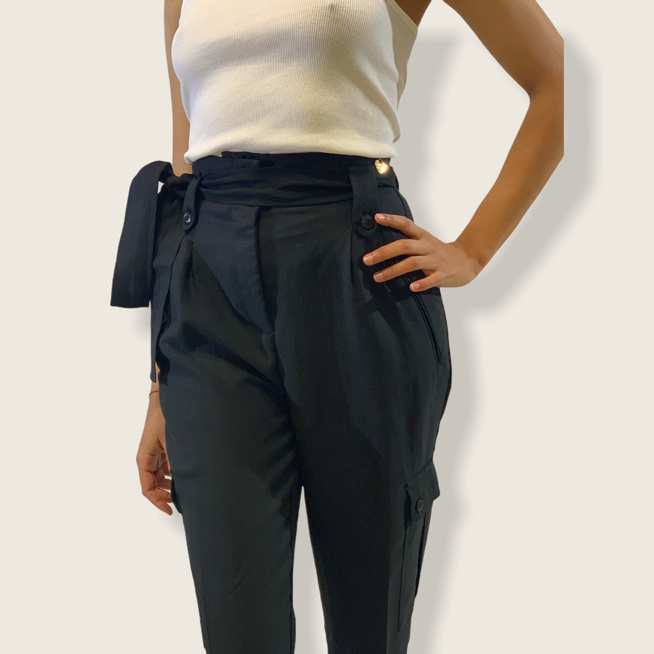 SHOPPING ON LINE TWINSET MILANO PANTALONI CARGO NEW COLLECTION WOMEN'S SPRING SUMMER 2021