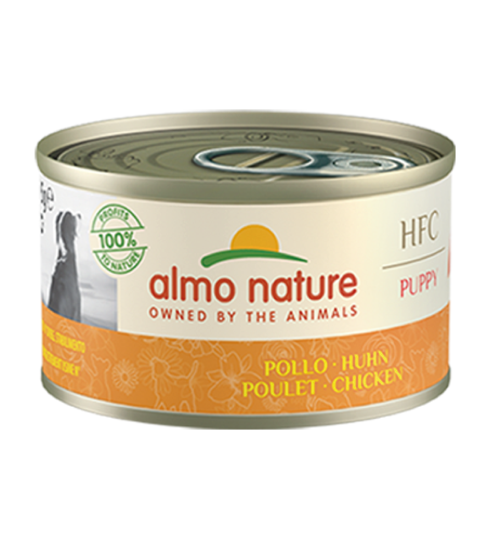 Almo Nature - HFC Dog - Puppy - Pollo - 95g x 6 lattine