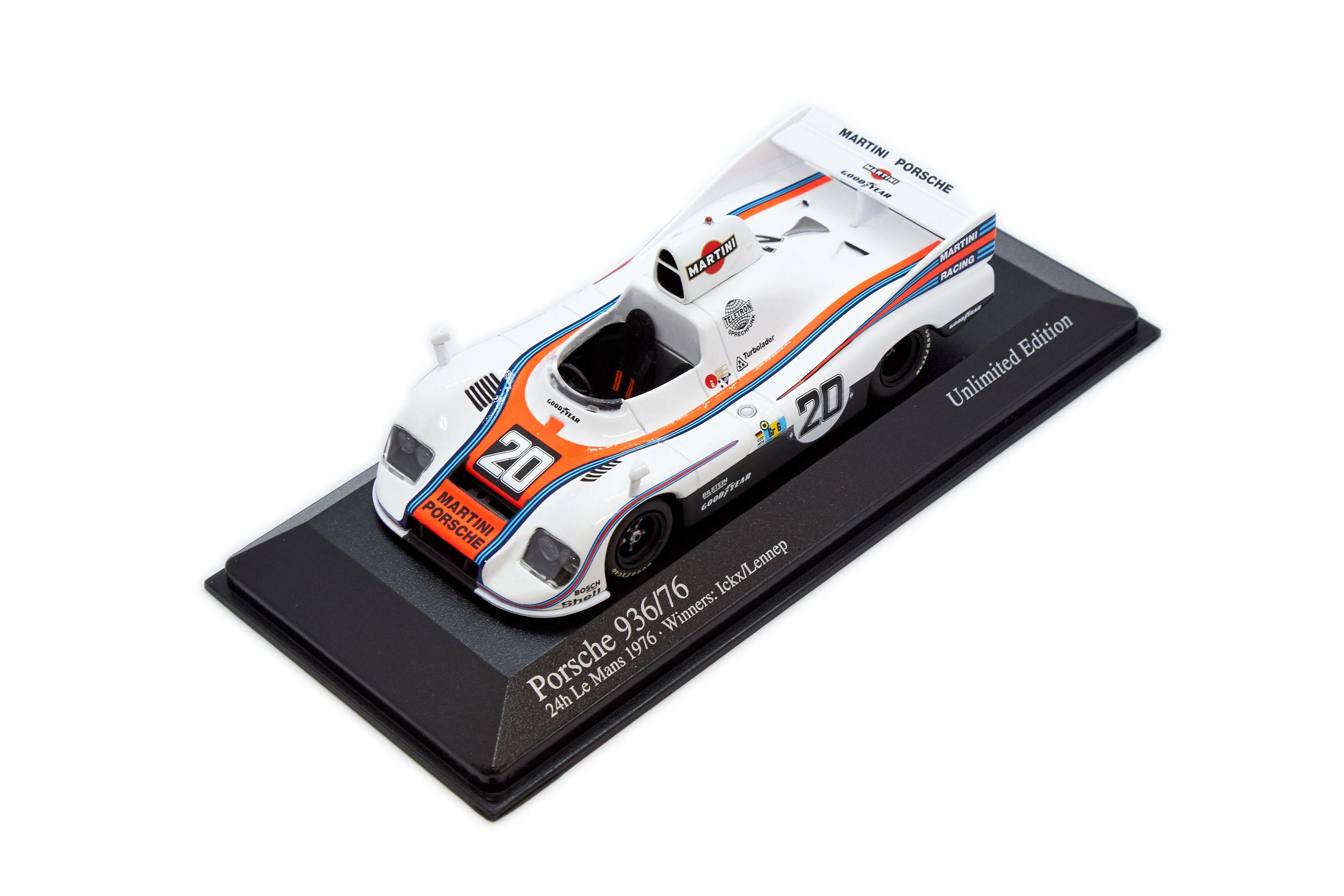 Porsche 936 Ockx Lennep Winners 24 Hr LM 1976 #20 1/43 Minichamps