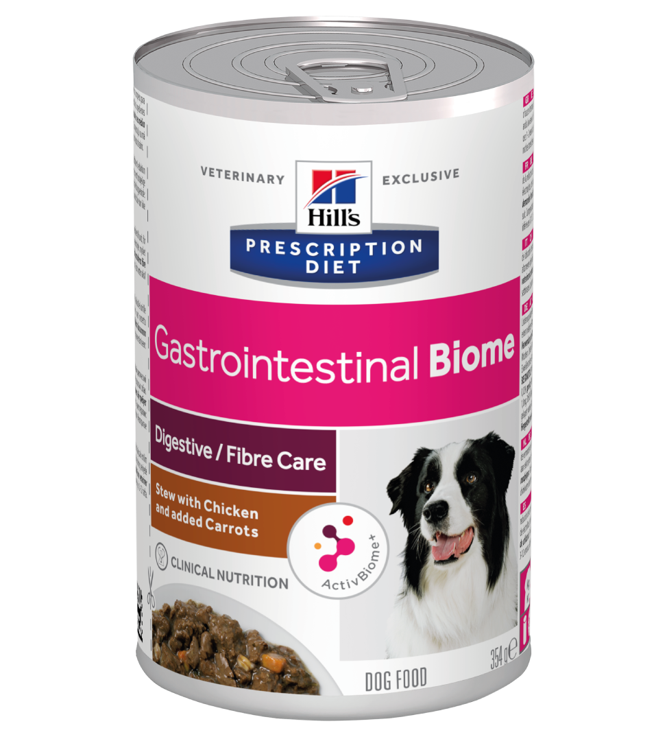 Hill's - Prescription Diet Canine - Gastrointestinal Biome Stew - 354g x 12 lattine