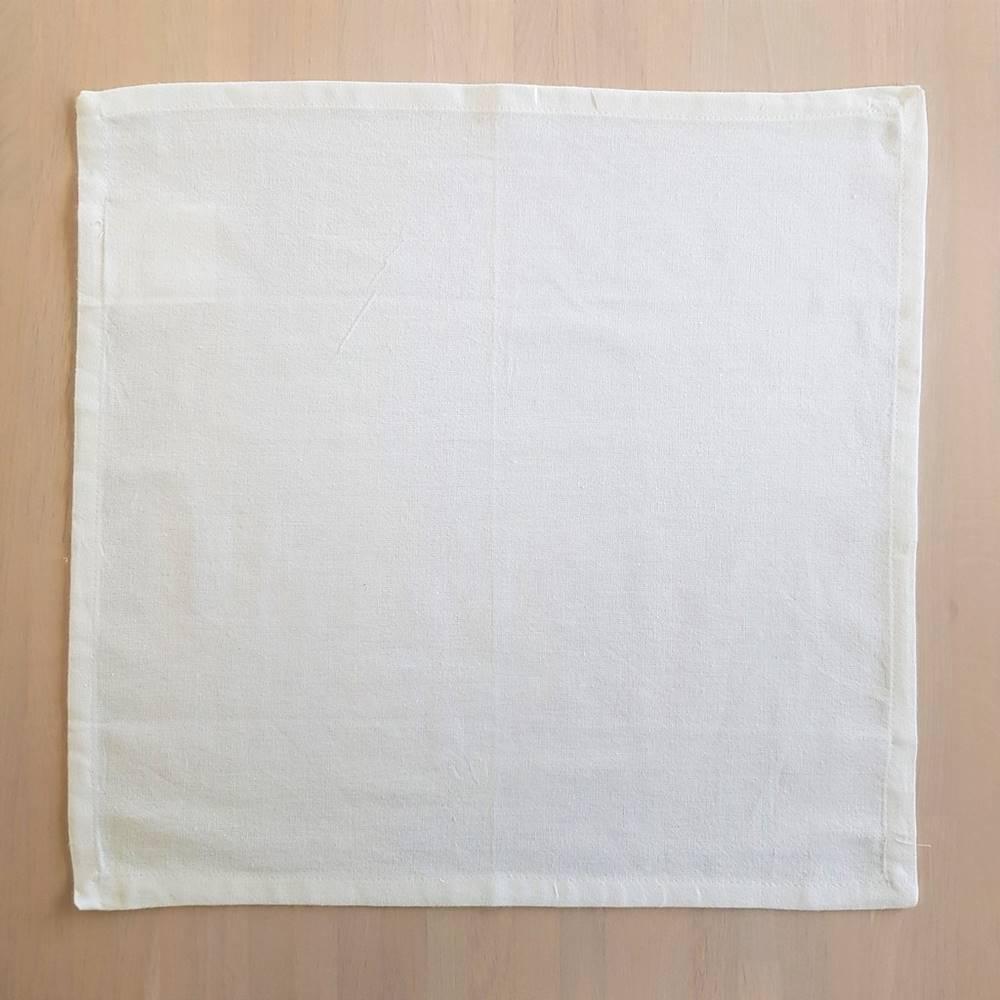 Set 4 tovaglioli bianchi