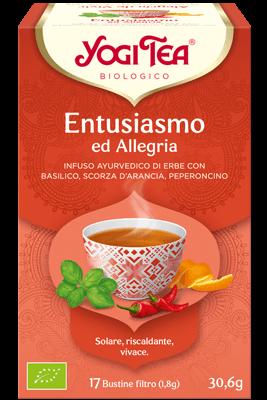 Yogi Tea entusiasmo ed Allegria