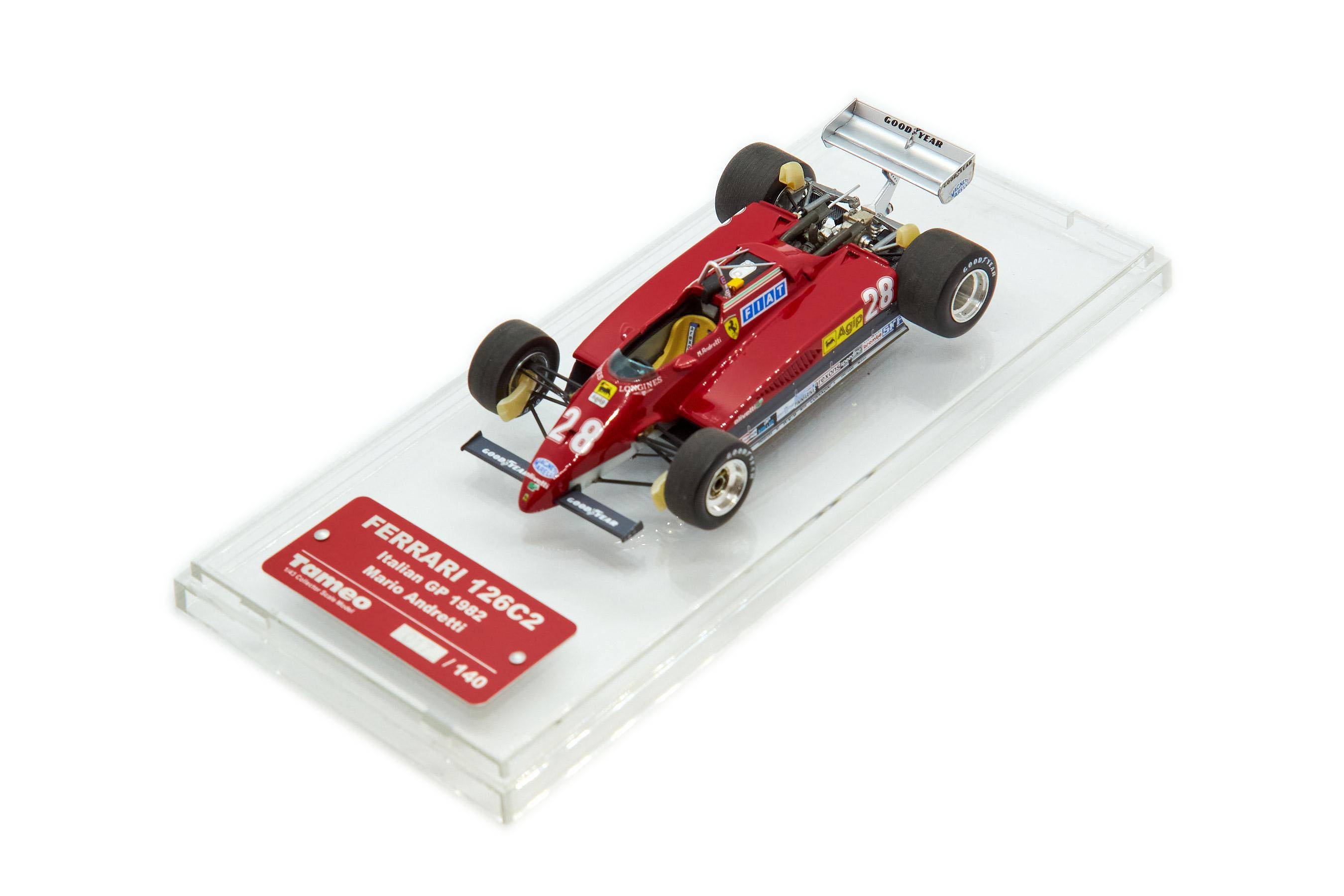 Ferrari 126 C2 Italian Gp 1982 1/43 Tameo Built