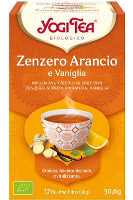 Yogi Tea Zenzero Arancio
