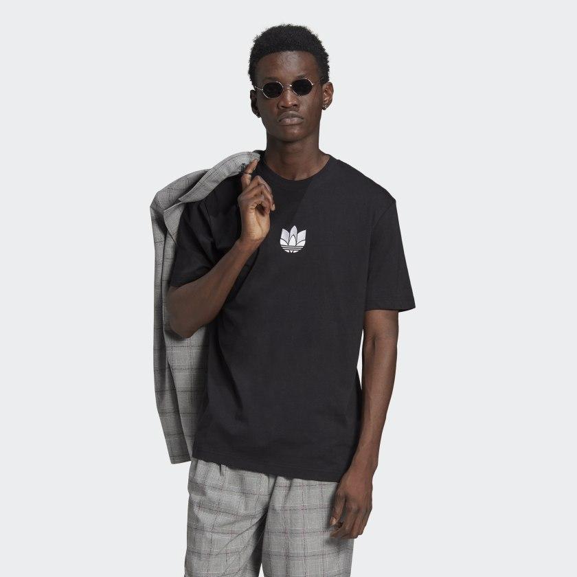 T-shirt Adidas - 3D TF Tee Black/White GN3548