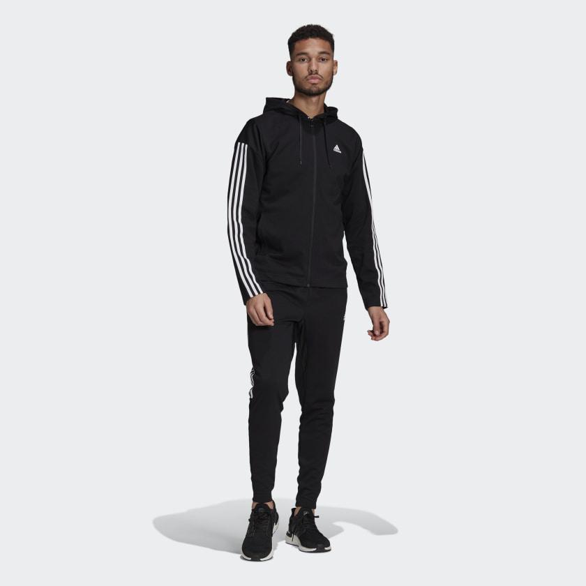 Tuta Adidas Performance - Nera da uomo GM3827