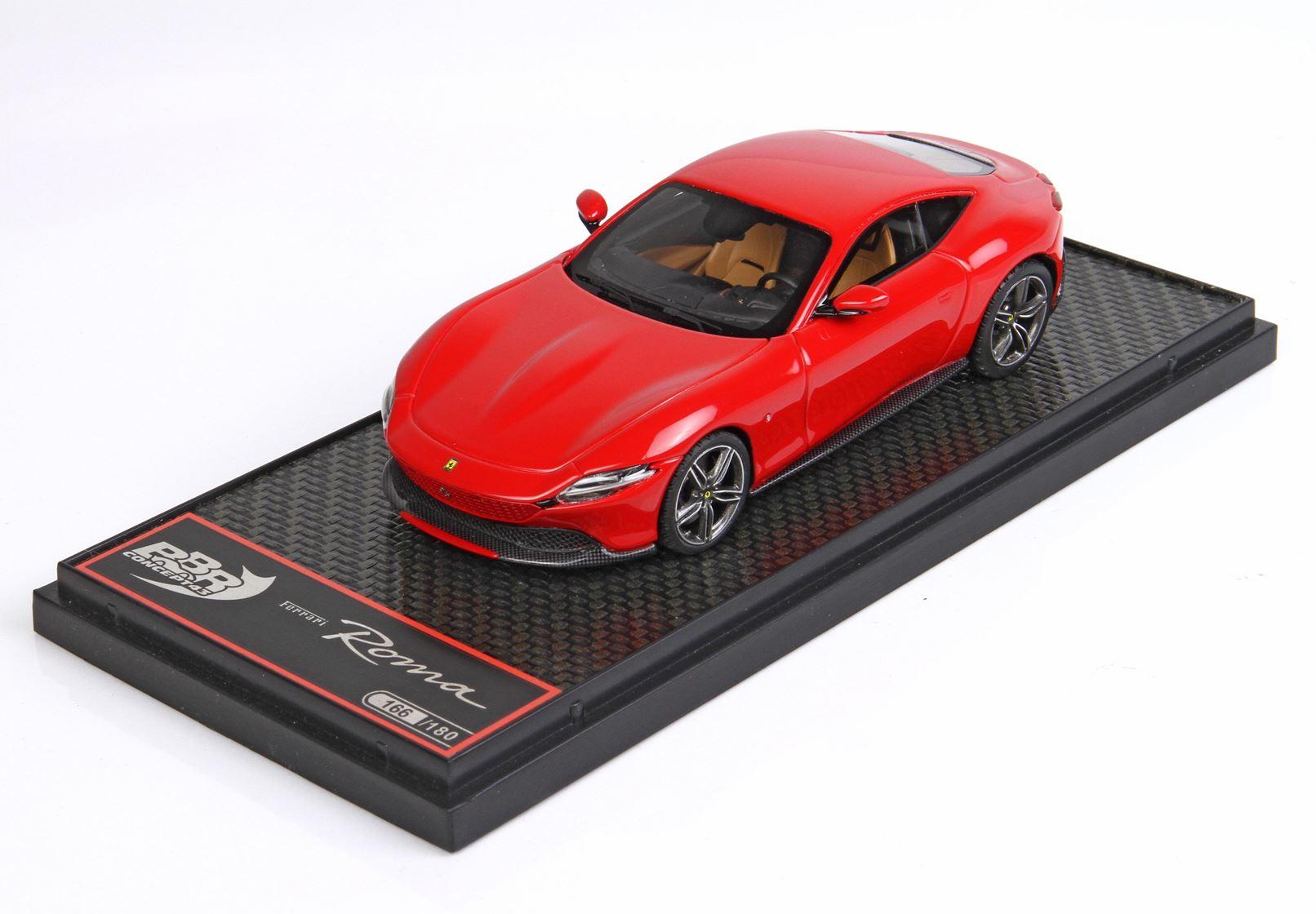 Ferrari Roma Rosso Corsa 322 Ltd 180 Pcs 1/43 BBR