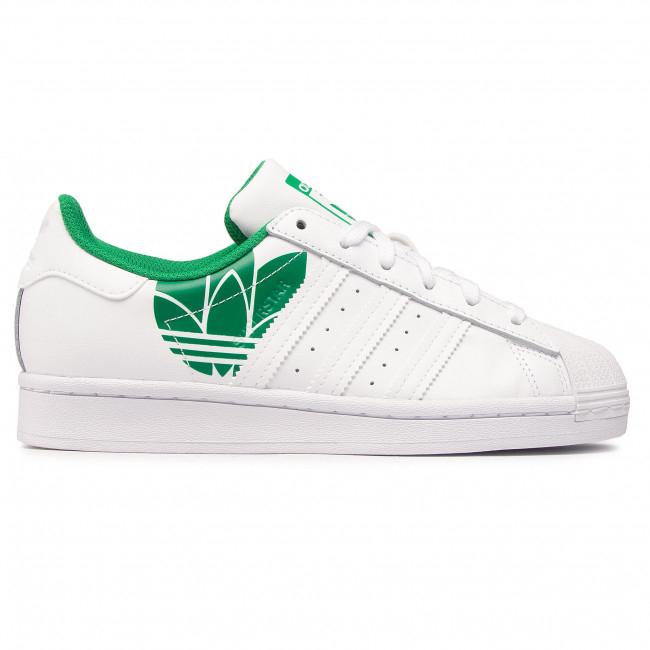 Scarpe da ginnastica / scarpe Adidas Superstar 'Trefoil Print Verde FY2827