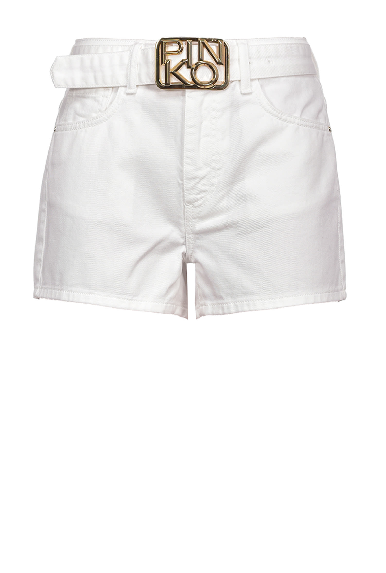SHOPPING ON LINE SHORTS CON FIBBIA LOGO BROOKLYN 1 NEW COLLECTION WOMEN'S SPRING SUMMER 2021