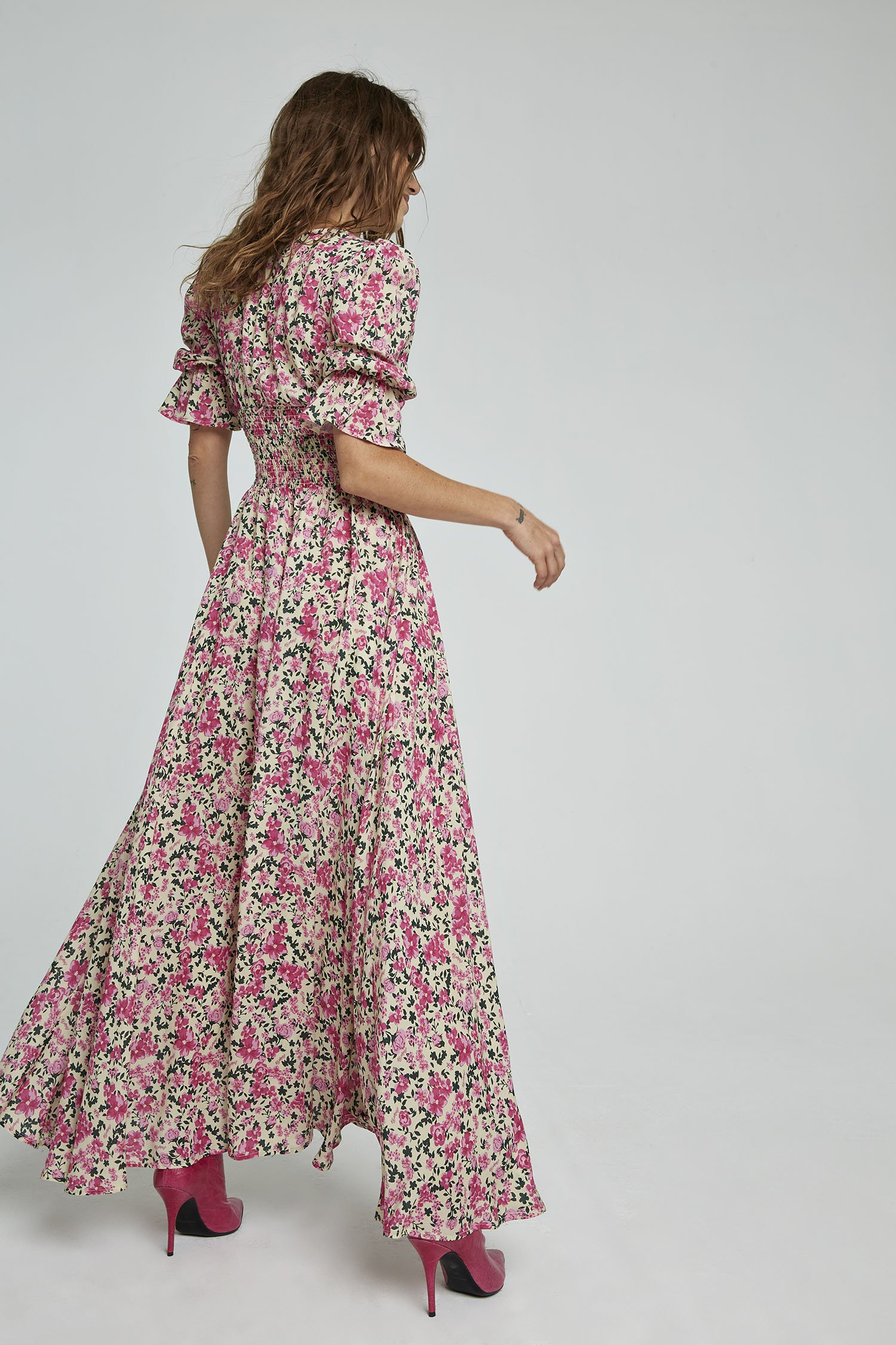 SHOPPING ON LINE ANIYE BY LONG DRESS ISABEL COLLECTION WOMEN'S SPRING SUMMER 2021