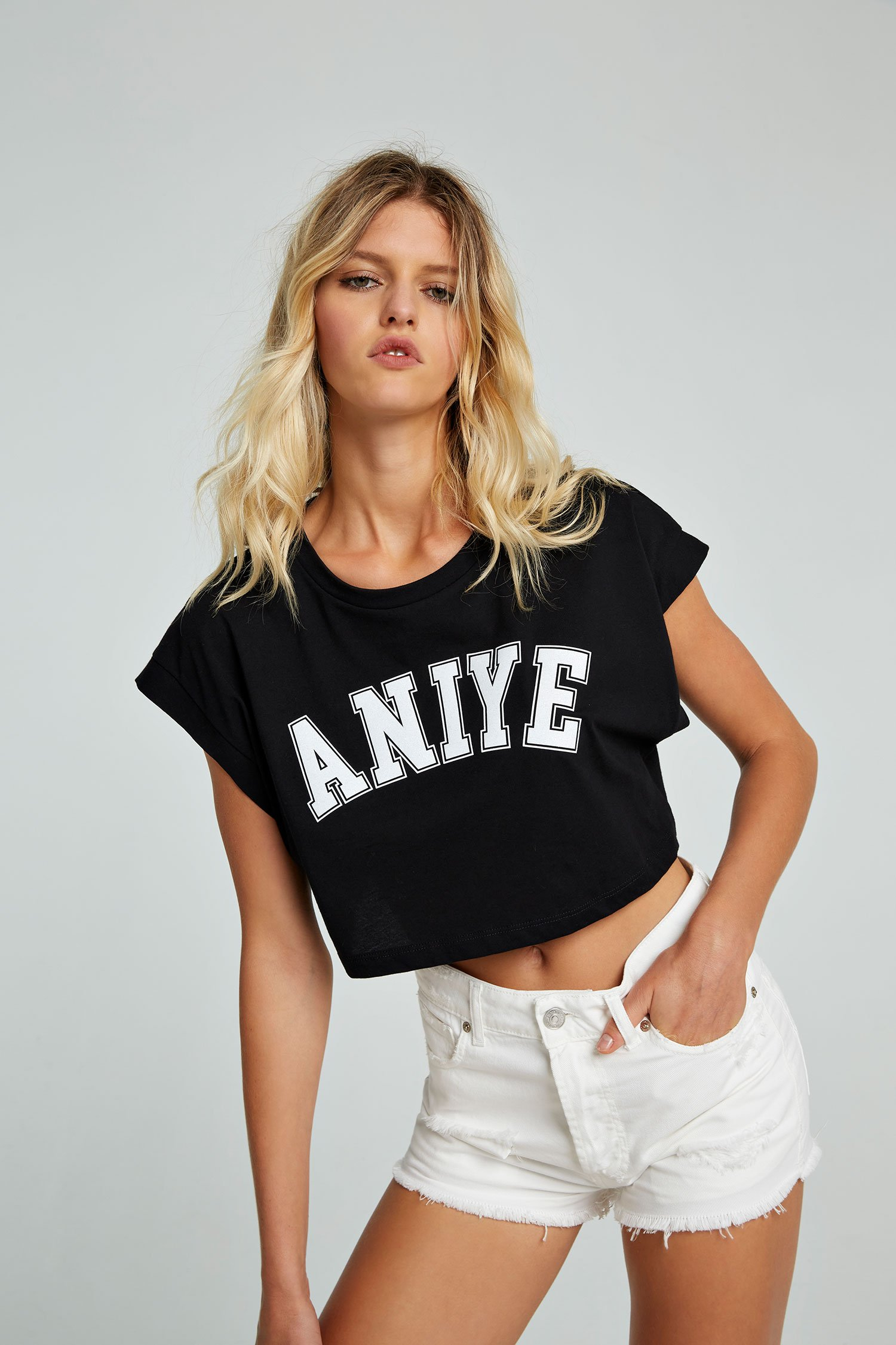 SHOPPING ON LINE ANIYE BY CROP TOP KERNEW COLLECTION WOMEN'S SPRING SUMMER 2021